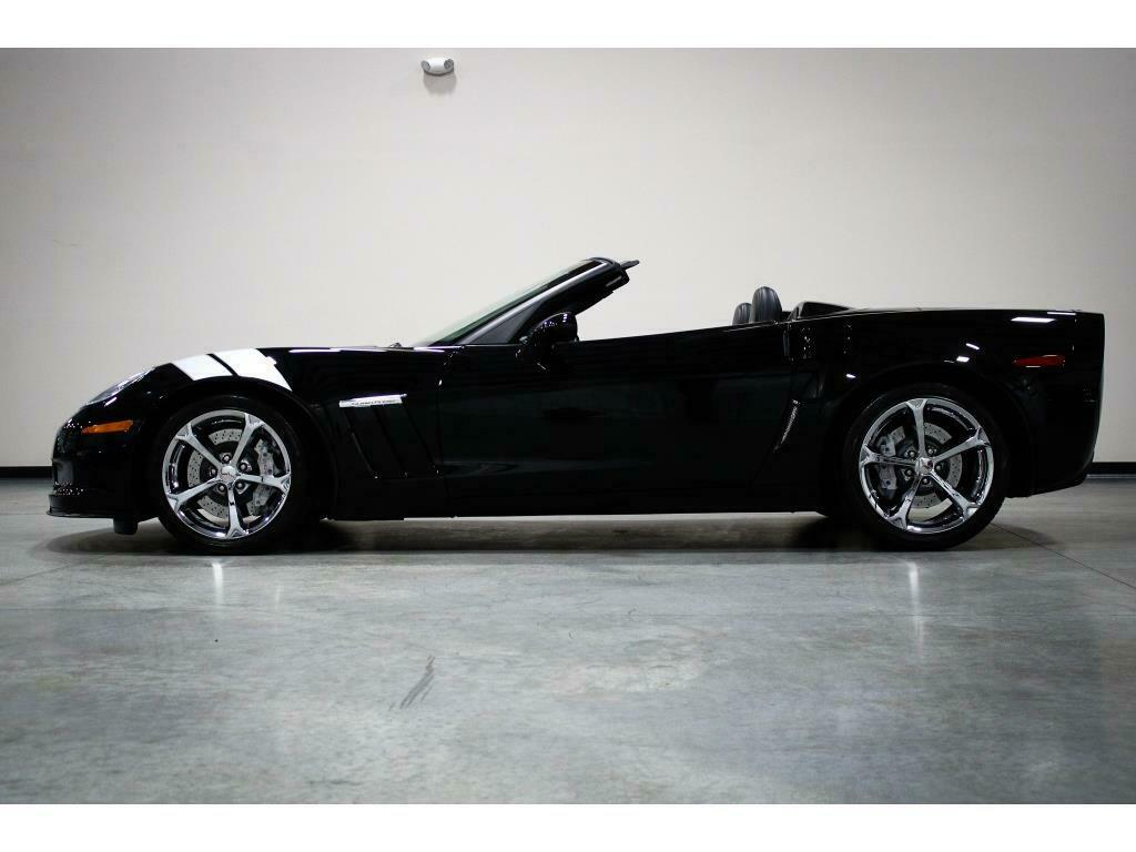 2010 Black Chevrolet Corvette     C6 Corvette Photo 2