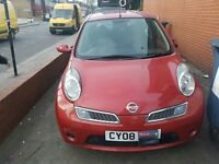 NISSAN MICRA 2008 GREAT CAR DRIVES WELL WITH 6 MONTHS MOT SMALL CHEAP PERFECT FIRST CAR 4 DOOR