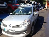 2006 Renault Clio MK3 1.5 dCi 86 Privilege 5dr silver ted69 BREAKING FOR SPARES