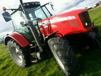 Massey Ferguson 6480 tractor.