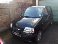 Hyundai Amica 2007 2 owners from new, good condition inside and out, new MOT
