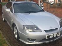 Hyundai coupe silver service mot sporty looking car leather £1275
