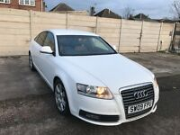 Audi A6 Saloon 2.0 TDI SE 4dr, 150000 miles, 2 owners white, Full Service History, 1 year Mot