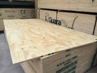 SHUTTERING PLY 2400X1200MM (various thicknesses) Ideal for Sheds
