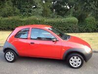 FORD KA 1.3 2004 - 56,000 MILES-STUNNING CLEAN CAR WITH NO RUST -CHEAP TO TAX & INSURE-CAN DELIVER