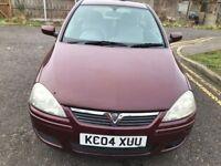 2004 Vauxhall Corsa 1.2 i 16v Design 3dr (a/c) Manual @07445775115