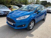 Ford, FIESTA, Hatchback, 2013, Manual, 998 (cc), 5 doors