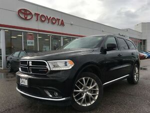 2016 Dodge Durango Limited, Leather, Sunroof, Carproof Clean