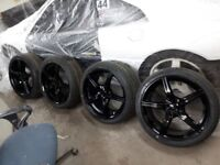 225/40/zr18 alloy wheels