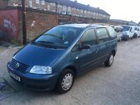 VW SHARAN 2.0 WHEELCHAIR ACCESS LOW MILEAGE EXCELLENT RUNNER £450