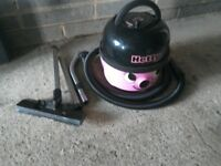 Hetty vacuum cleaner with twin speed comes with hose and pipes with floor attachment powerfull gwo