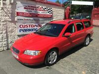 VOLVO V70 D5 AWD S Geartronic [185] Auto (red) 2007