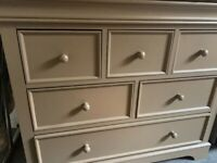 Chest of Drawers Nursery - Kidsmill Marseille colour Mocha - GREAT CONDITION