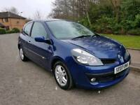 2007 RENAULT CLIO 1.4 DYNAMIQUE * LOW MILEAGE. FULL YEAR MOT *
