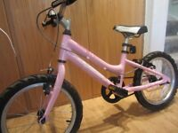 "Girls Ridgeback Melody 16"" bike for sale - very good condition - bought from Alpine Bikes"