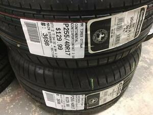 255/40/17 Continental ContiSportContact 2 SS (All Season) *BRAND NEW NEVER USED*