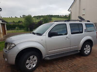 SOLD...Nissan Pathfinder 7 seater 56 plate, low miles, MOT till July 2018, 4wd (REDUCED)