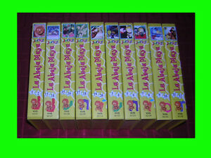 SERIE-TV-ORIGINAL-EN-FORMATO-VHS-LA-ABEJA-MAYA-10-CINTAS-VHS
