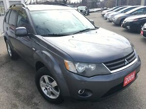 2008 Mitsubishi Outlander LS/AWD/7PASS/LOADED/ALLOYS
