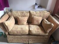 Peter guild sofa foot stools and storage poof