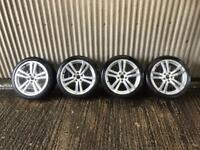 "Genuine 18"" Audi A3 S Line Alloy Wheels - 5x112 - Will fit VW, Skoda, Seat, A4, A5"