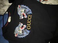 Gucci t shirt medium real