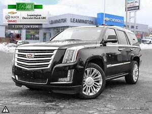 2016 Cadillac Escalade LUXURY Platinum 4X4 V8 6.2 LT