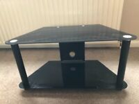 Glass TV Stand, in good used condition