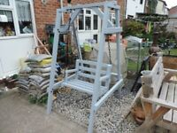 Home made Single seat swing chair.