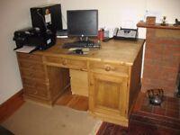 Large Pine Office desk
