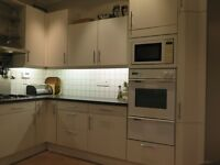 Good quality German fitted kitchen units, worktops and selection of integrated appliances