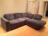 Large comfy L-shaped sofa - Must Go ASAP!
