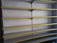 Retail shop shelving in good condition