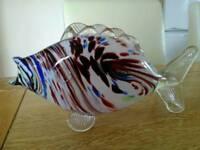 Vintage glass fish