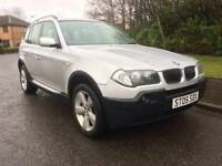 BMW X3 2.0 DIESEL SPORT , 6 SPEED , MOT JAN 2019 , 4X4 , LEATHER TRIM ,