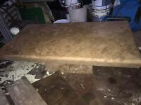 Coffee table natural stone
