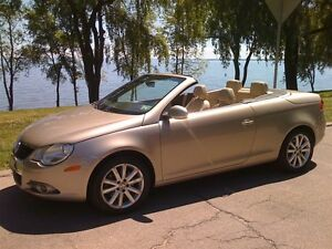 2007 Volkswagen Eos Hard Top Convertible With Panaramic Sunroof