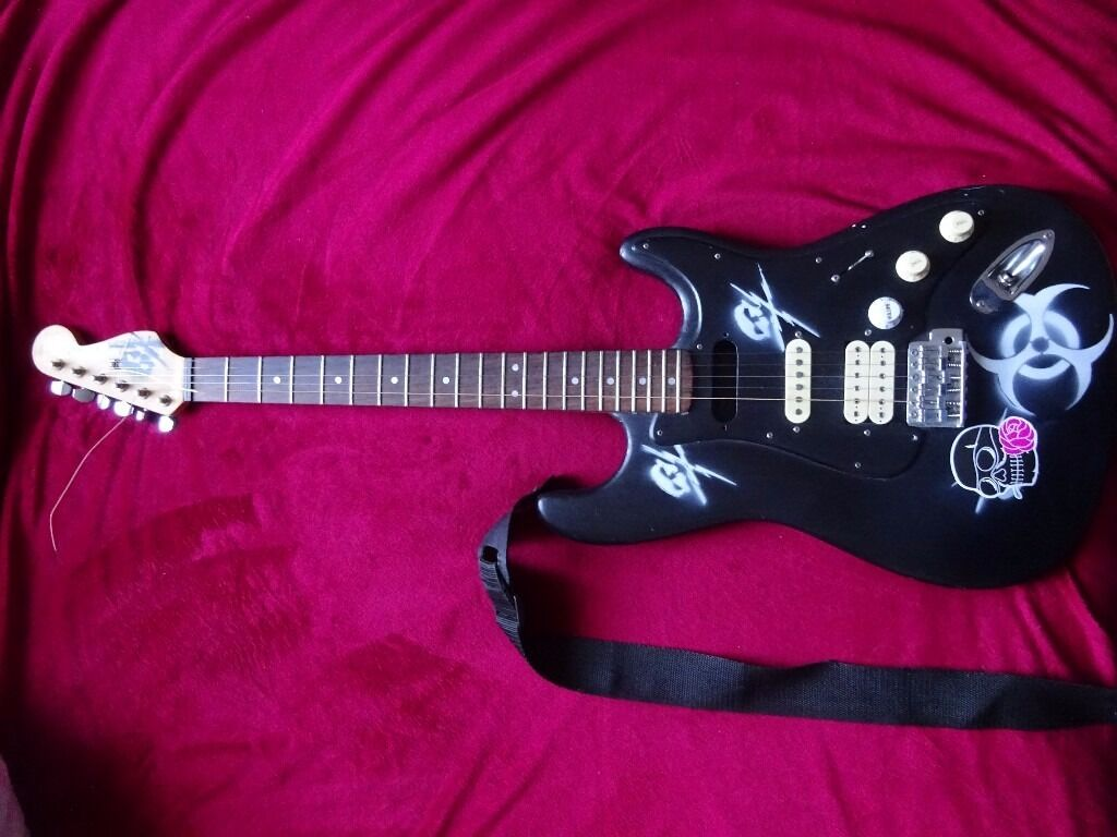 SUNN by Fender MUSTANG STRAT ''DEATH PROOF''