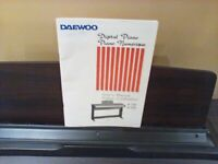 Faulty Daewoo digital piano (spare parts or can potentially be fixed)