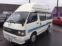 Toyota Hiace 2.8 diesel auto campervan 4 berth Yokohama conversion 70000 miles cheapest in U.K.
