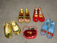 Disney Princess dress up shoes (sizes 11/12, gold/pink ones size 13/1)