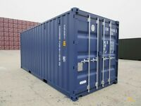 20' x 8' New Blue Container