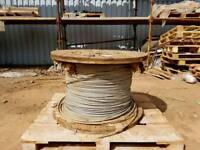 Galvanised steel rope