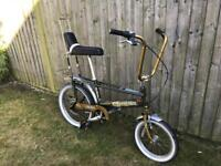Raleigh Chopper MK3 with MK2 seat conversion
