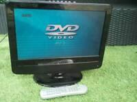 12 volt tv dvd combi ideal caravan , camper , boat , motorhome ect