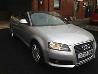 2009 AUDI A3 1.9 TDI COUPE CABRIOLET 10MNTHS MOT 69K 1PREV OWNER AMAZING CAR&DRIVE ONLY £5495