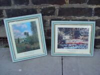 Two Prints of Monet's Classic Paintings