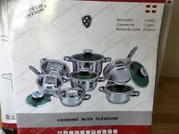 NEW 12 Piece High Quality Cookware set