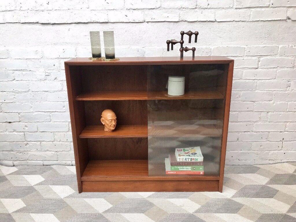 Vintage Retro Sideboard Cabinet Bookshelf #467