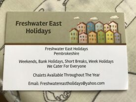 Holiday Chalets To Let In Freshwater East, Pembrokeshire